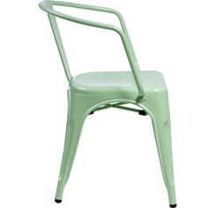 Krzesło Paris Arms zielone inspirowane T olix