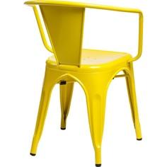 Krzesło Paris Arms żółte inspirowane Tol ix