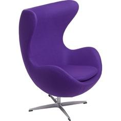 Fotel Jajo fioletowy kaszmir 4 Premium