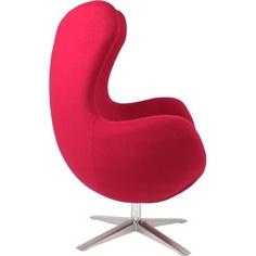 Fotel Jajo szeroki wełna czerwony JA-2712
