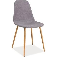Krzesło Fox szary / dąb