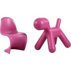 Krzesło Balance Junior różowy