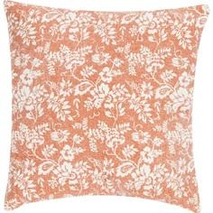 Poduszka Flower Garden 45x45 pomarańcz.