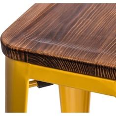 Hoker Paris Wood 75cm żółty sosna