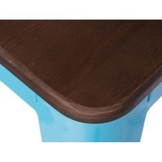 Hoker Paris Wood 75cm niebieski sosna