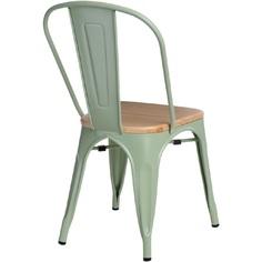 Krzesło Paris Wood zielony sosna naturalna