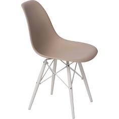 Krzesło P016W PP beżowy/white