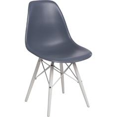 Krzesło P016W PP dark grey/white