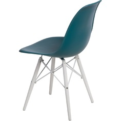 Krzesło P016W PP navy green/white