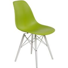 Krzesło P016W PP zielone/white