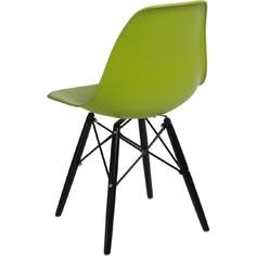 Krzesło P016W PP zielone/black