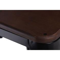 Hoker Paris Wood 65cm sosna orzech czarny
