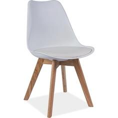 Krzesło Kris buk/białe