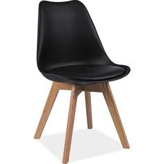 Krzesło Kris buk/czarny