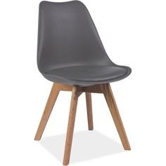 Krzesło Kris buk/szary