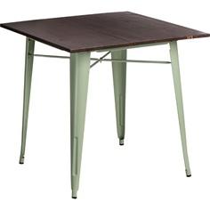 Stół Paris Wood zielony jasny sosna