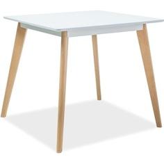 Stół Declan II biały / buk