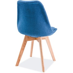Krzesło Dior buk niebieski, tap. 33 / buk