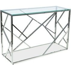 Konsolka Escada C szkło + chrom