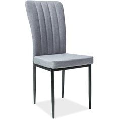 Krzesło H-733 szary, tap. 49 / czarny