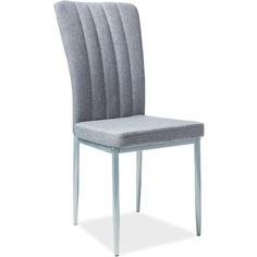 Krzesło H-733 szary, tap. 49 / aluminium