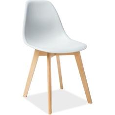 Krzesło Moris jasny szary