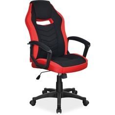 Fotel obrotowy Camaro czerwony + czarny