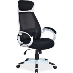 Fotel obrotowy Q-409 czarny + biały