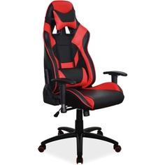 Fotel obrotowy Supra czerwony + czarny