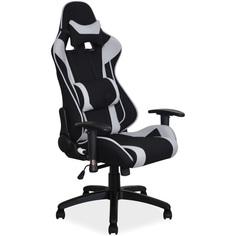 Fotel obrotowy Viper szary + czarny