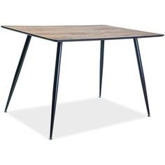 Stół Remus orzech / czarny mat