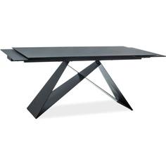 Stół Westin II czarny / czarny mat