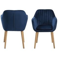 Krzesło Emilia Velvet deep blue