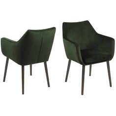Fotel Nora VIC Forest Green