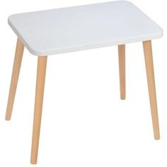 Prostokątny stolik dziecięcy Attina / buk 41