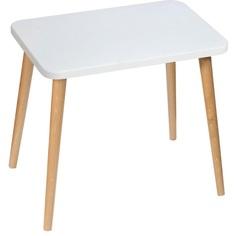 Prostokątny stolik dziecięcy Attina / dąb 41