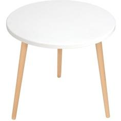stolik kawowy Crystal White / buk 54