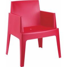 Krzesło BOX czerwone