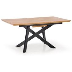CAPITAL stół dab złoty / czarny