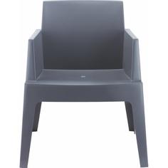 Krzesło BOX ciemnoszare