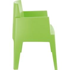 Krzesło BOX zielone tropikalne