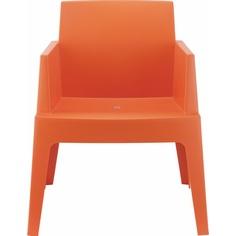 Krzesło BOX pomarańczowe