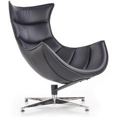 LUXOR fotel wypoczynkowy czarny