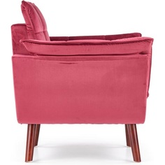 REZZO fotel wypoczynkowy bordowy