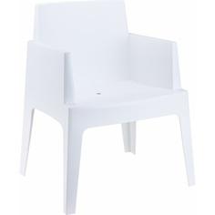 Krzesło BOX białe
