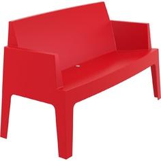 BOX SOFA czerwona