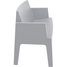 BOX SOFA srebrnoszara