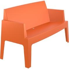 BOX SOFA pomarańczowa