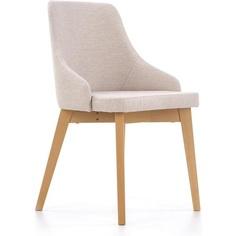 TOLEDO krzesło dąb miodowy / tap. Inari 22 jasny beż