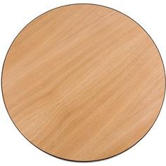 Okrągły stolikTre 43 dąb/czarny